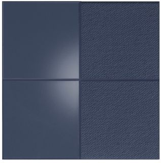 ISO BLUE SQUARES/30X30 (22275)