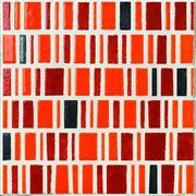 LE MURRINE DECORO LOW METAL ORANGE SU RETE 30X30 (230706)
