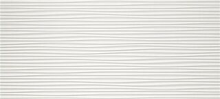 3D Flows White Matt 50x110 (4D3F)