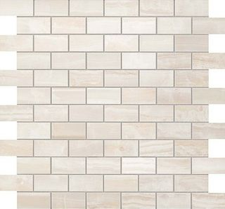 S.O. Pure White Brick Mosaic (600110000202)