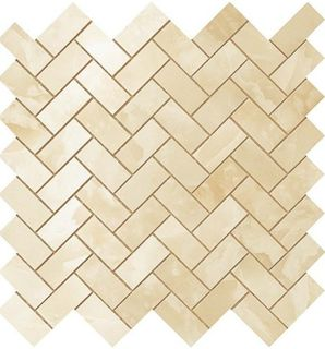 S.O. Honey Amber Herringbone Mosaic (600110000205)