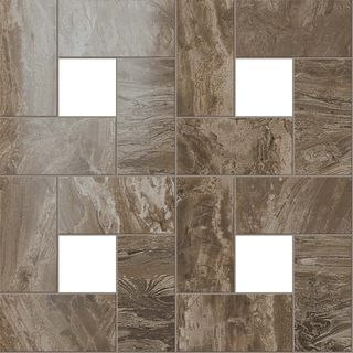 S.M. Woodstone Taupe Mosaic Lap (ст610110000066)