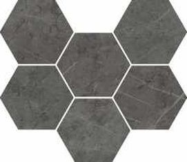 10мм Charme Evo Antracite Mosaico Hexagon 25x29 (ст620110000050)
