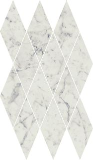 C.E. Carrara Mosaico Diamond 28x48/Шарм Экстра Каррара Мозаика Даймонд 28x48 (620110000077) (620110000077)