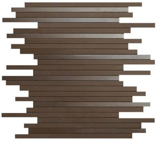 Dwell Brown Leather Mosaico L (9DLB)