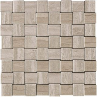 Marvel Travertino Silver Net Mosaic (9MVM)
