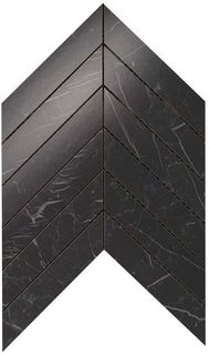 Marvel Nero Marquina  Chevron Wall (9SCN)