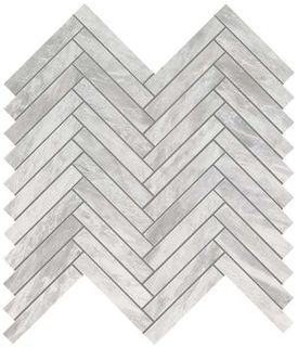 Marvel Bardiglio Grey Herringbone Wall (9SHB)