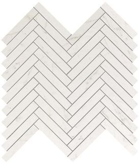 Marvel Carrara Pure Herringbone Wall (9SHC)