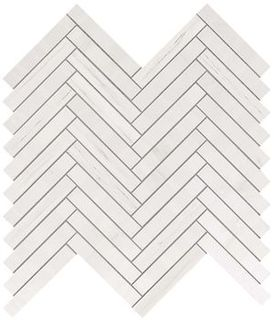Marvel Bianco Dolomite Herringbone Wall (9SHD)