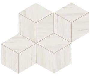 Marvel Bianco Dolomite Mosaico Esag. Lapp. (AS2G)