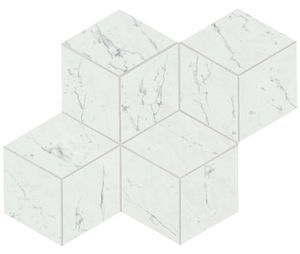 Marvel Carrara Pure Mosaico Esag. Lapp. (AS2J)